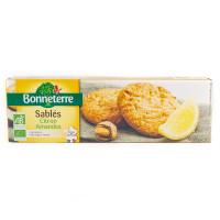 Biscuits Sablés Citron et Amandes - 150g