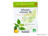 NUTRIGÉE Infusion N°10 minceur 30 sachets