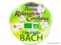 Pastilles relaxation confiance fleurs de Bach - 50g