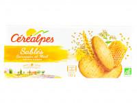CÉRÉALPES Sablés sarrasin et miel saveur citron 132g