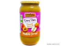DANIVAL Dani'Pom Compote pomme abricot 1050g