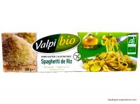 VALPIBIO Spaghettis de riz sans gluten 500g