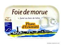 PHARE D'ECKMÜHL Foie de morue fumé au bois de hêtre 121g