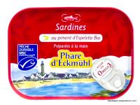PHARE D'ECKMÜHL Sardines au piment d'Espelette 135g