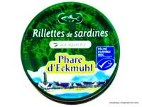 PHARE D'ECKMÜHL Rillettes de sardines aux algues 120g