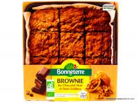 BONNETERRE Brownie chocolat noir & noix grillées 285g