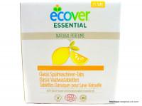 ECOVER ESSENTIAL Tablettes lave-vaisselle citron x25, 500g