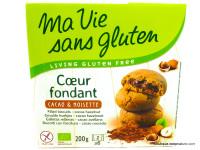 MA VIE SANS GLUTEN Coeur fondant cacao & noisettes sans gluten 200g