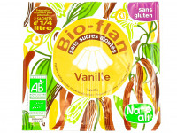 NAT-ALI Bio-flan vanille sans sucre ajoutés 2x8g