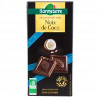 Chocolat Noir Noix de Coco Bio 90g