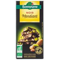 BONNETERRE Chocolat noir mendiant 100g