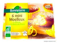 Bonneterre - Mini moelleux au citron et graines de pavot 200g - Bio