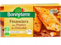 BONNETERRE Financiers aux pépites de chocolat 150g