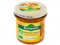 BONNETERRE Tartinade de légumes trio de poivrons 135g