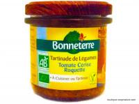 BONNETERRE Tartinade de légumes tomate & roquette 135g