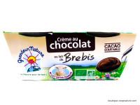 GRANDEUR NATURE Crème de brebis au chocolat 2x100g