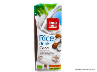 LIMA Boisson riz coco Bio1L