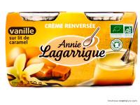 ANNIE LAGARRIGUE Crème renversée à la vanille 2x125g