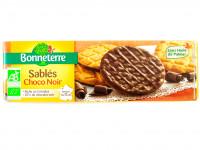 BONNETERRE Sablés céréales chocolat noir 120g