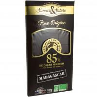 Chocolat noir 85% Madagascar Bio 100g