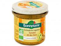 BONNETERRE Tartinade de légumes tomates ail des ours 135g