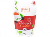 ELIBIO Thé noir Breakfast sachet de 200g Bio