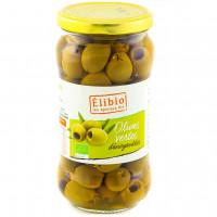 ÉLIBIO Olives vertes dénoyautées 350g