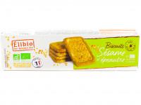 ÉLIBIO Biscuits sésame et épeautre 150g