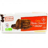 ÉLIBIO Cookies pépites chocolat et cacao 175g