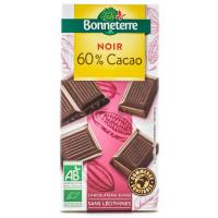 BONNETERRE Chocolat noir 60% par 100g