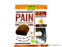 GAIA Pain de céréales germées au blé 500g