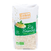 Riz Basmati Semi-complet Bio 1 kg