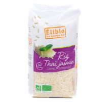 Élibio les épiciers bio - Riz Thaï semi-complet au jasmin 1 kg - Bio