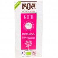 Chocolat Noir Framboises Bio 100g