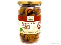 PRIMEAL Marrons entiers d'Ardèche au naturel 420g
