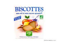 MOULIN DU PIVERT Biscottes sans sel & sucres ajoutés 270g