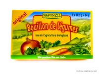 RAPUNZEL Bouillon de légumes en cubes 84g
