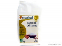 MARKAL Farine de châtaigne 500g