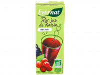 EVERNAT Pur jus de raisin 20cl