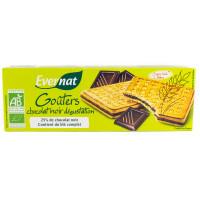 Biscuits Gouters Fourrés Chocolat Noir Dégustation - 225g