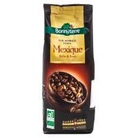 Bonneterre - Café pur Arabica du Mexique en grains 250g - Bio