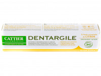 CATTIER Dentifrice Dentargile au citron 75ml