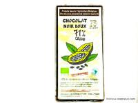 CLOS DE L'ARCHE Chocolat noir 71% par 90g