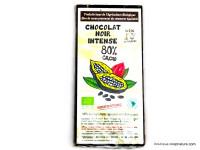 CLOS DE L'ARCHE Chocolat noir 80% par 90g
