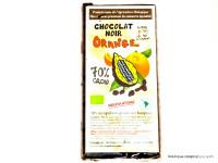 CLOS DE L'ARCHE Chocolat noir 70% à l'orange 90g