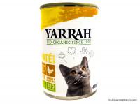 YARRAH Chats pâté au poulet 400g
