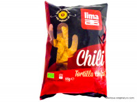 LIMA Chips tortilla au chili 90g