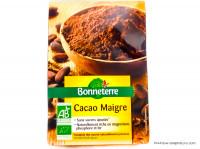 BONNETERRE Cacao maigre en poudre 250g