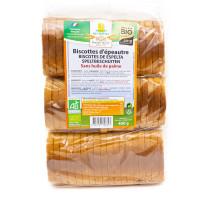 MOULIN DES MOINES Biscottes d'épeautre 400g BIO